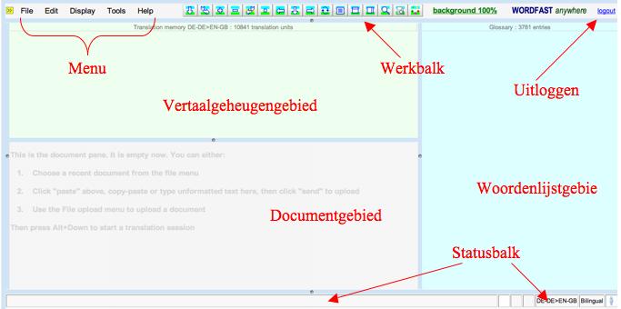 Handleiding Wordfast Anywhere Wordfast Wiki
