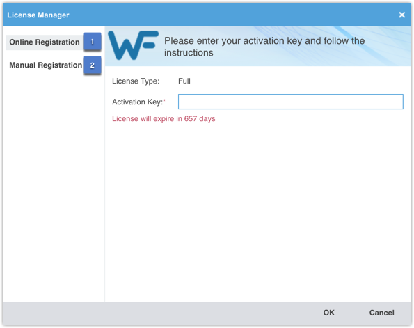 Activation key manager io   12 Months License key  2019-04-14